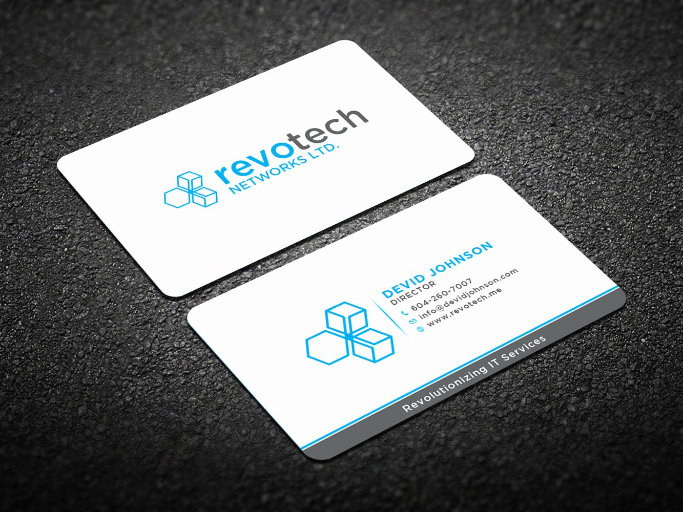Information Technology Business Cards Inspirational Modern Bold Information Technology Business Card Design