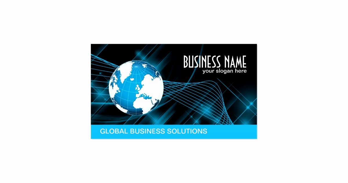 Information Technology Business Cards New Information Technology Business Cards