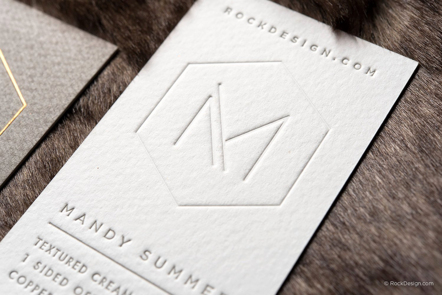 Interior Design Business Card Awesome Interior Designer Template On Textured Stock with Emboss