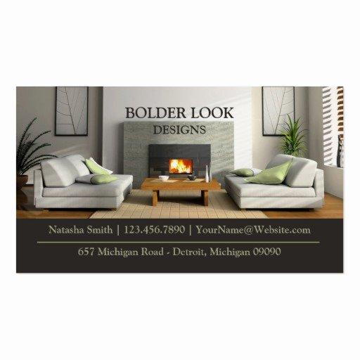 Interior Design Business Card Elegant Interior Design Business Card