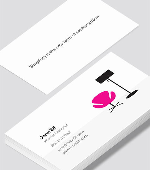 Interior Design Business Card Inspirational Interior Designer Business Card Modern Design