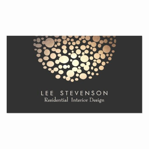 Interior Design Business Card New Interior Designer Lighting Black Modern Business Cards