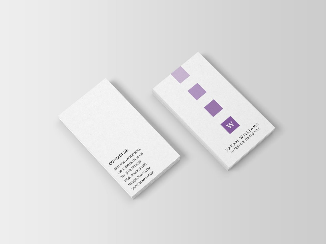 Interior Design Business Card New Interior Designer Monogram Business Cards J32 Design