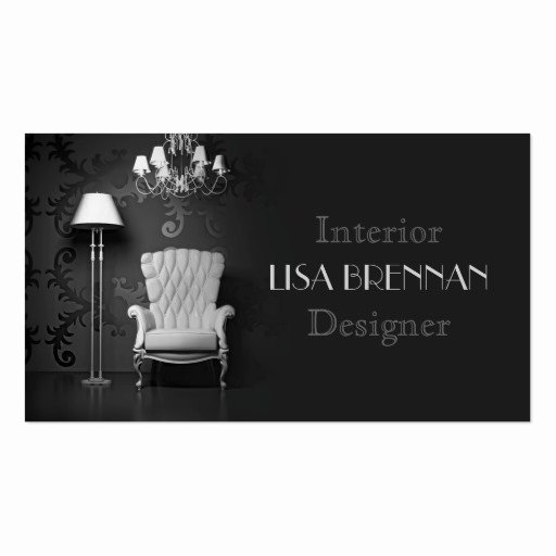 Interior Design Business Cards Awesome Interior Designer Business Card Template
