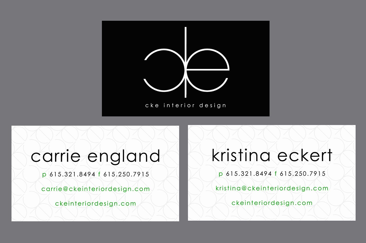 Interior Design Business Cards Lovely Cke Interior Design Business Cards On Behance