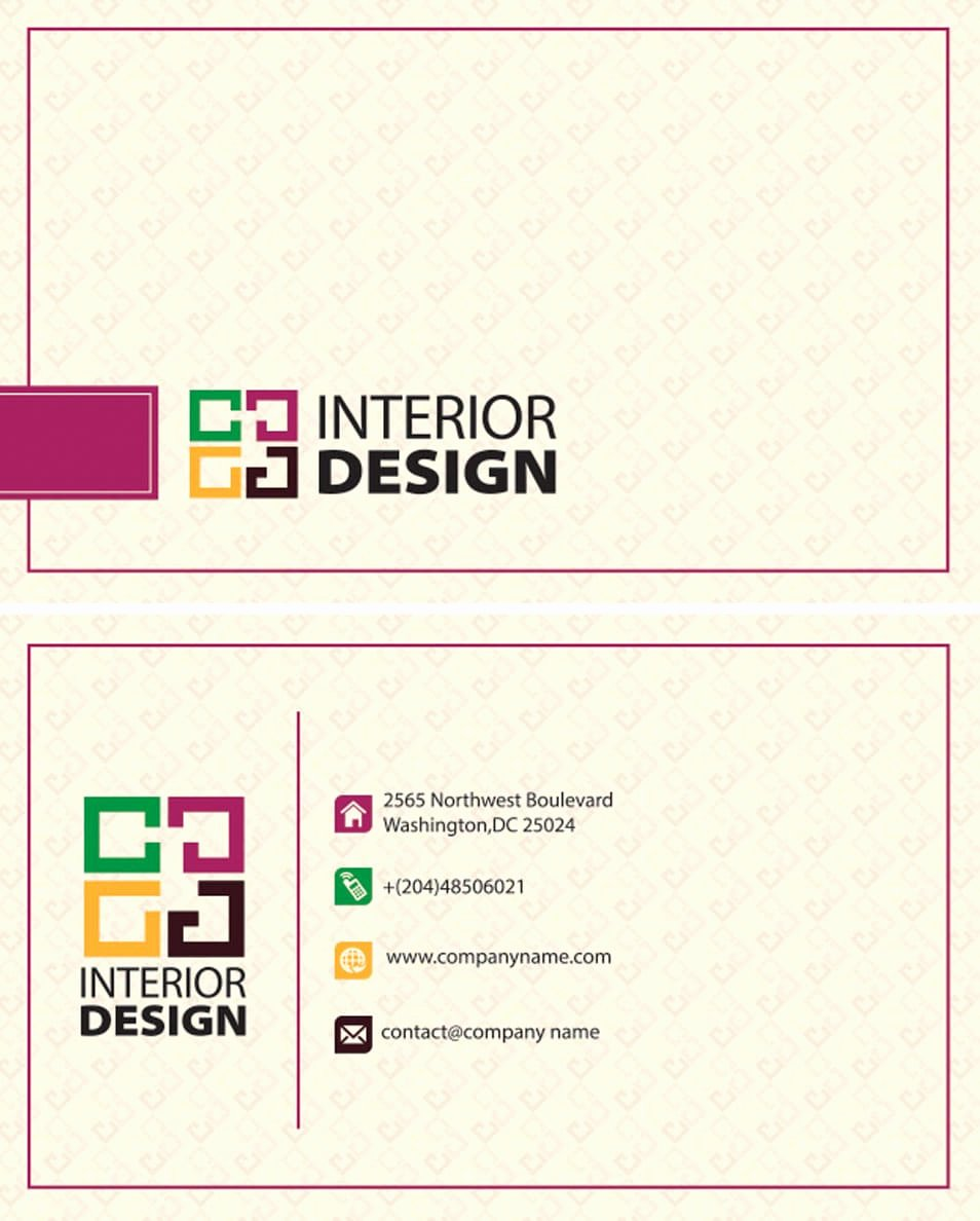 100 free business cards psd