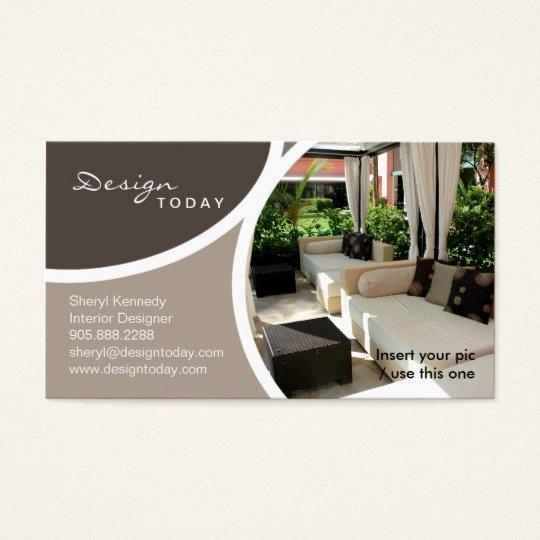 Interior Design Business Cards New 232 Interior Design Template Business Card Patio