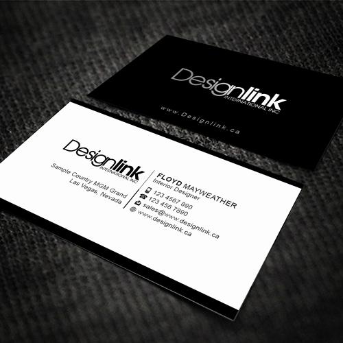 Interior Design Business Cards Unique Develop A Business Card for A Dynamic Interior Design Firm