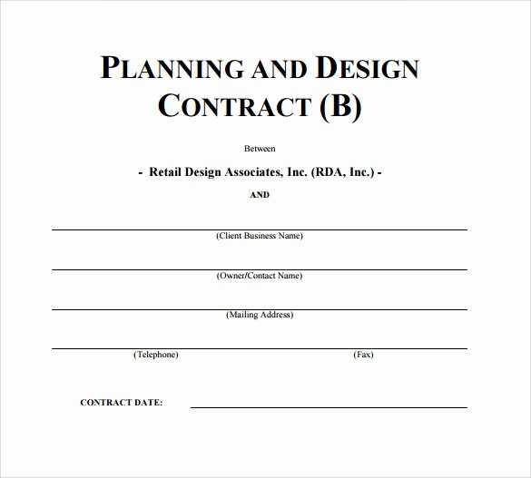 Interior Design Contract Template Luxury Interior Design Contract Template 12 Download Documents In Pdf Word Google Docs