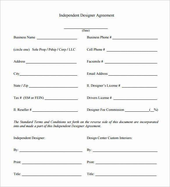 Interior Design Contracts Templates Awesome 6 Interior Designer Contract Templates – Free Word Pdf Documents Download