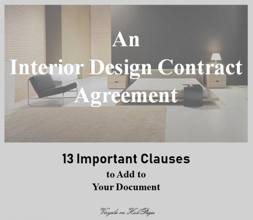 Interior Design Contracts Templates Best Of 13 Important Clauses to Add to Interior Design Contract Agreements
