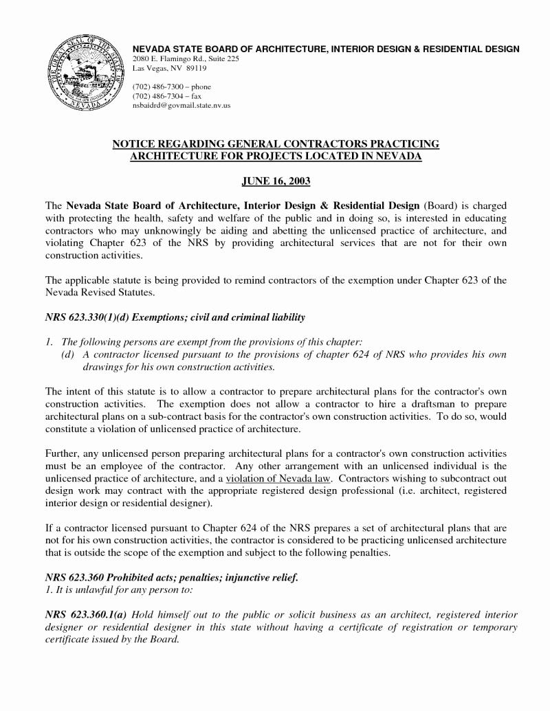 Interior Design Letter Of Agreement Unique Residential Interior Design Contract