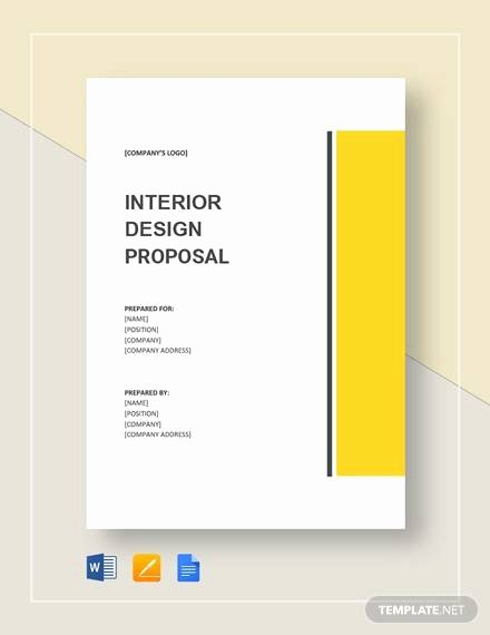 Interior Design Proposal Templates Luxury Sample Interior Design Proposal Template 16 Free Documents In Pdf Word