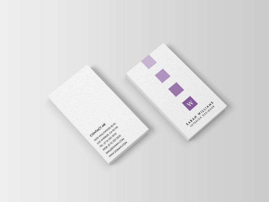 Interior Designer Business Card Luxury Interior Designer Monogram Business Cards J32 Design