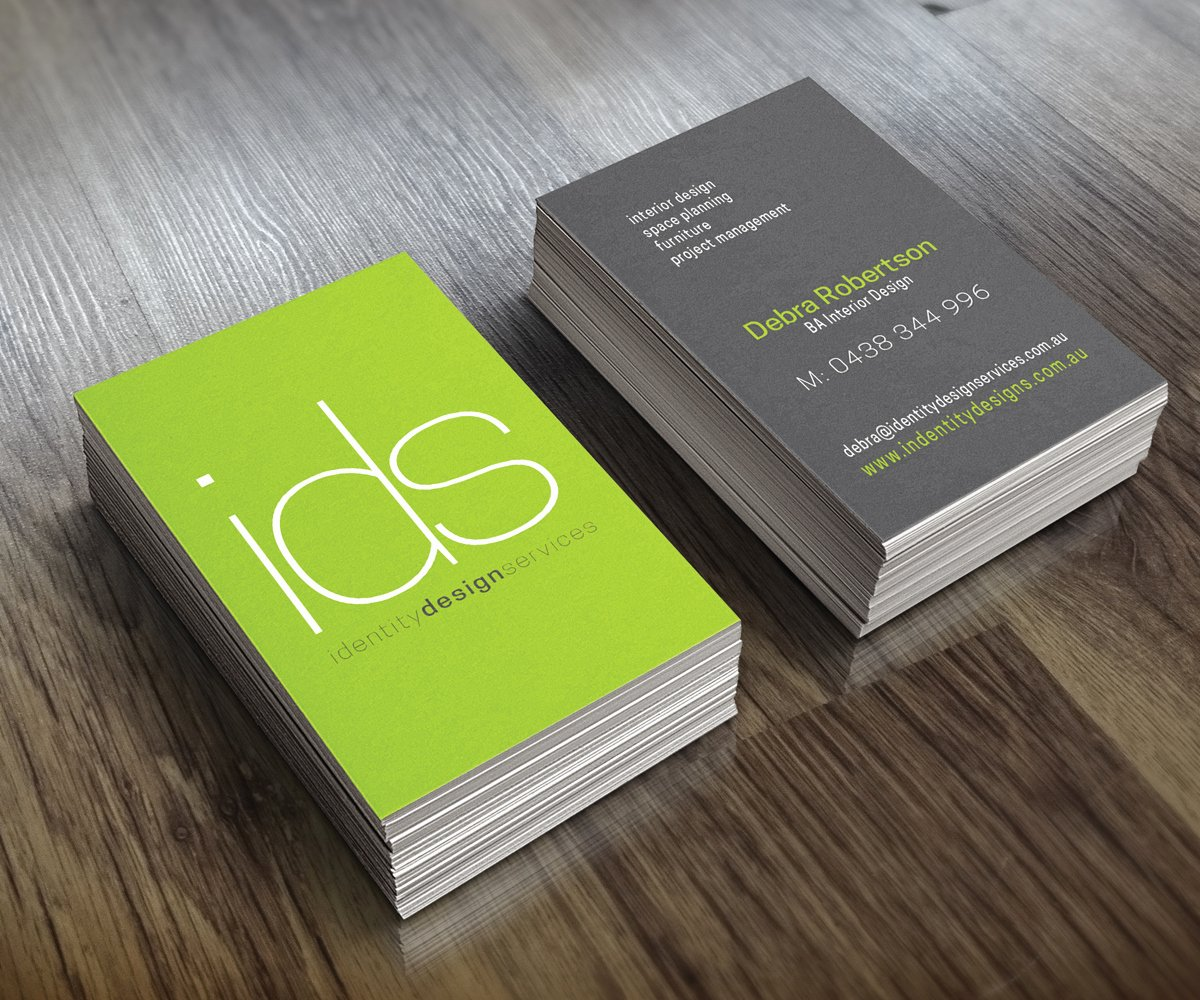 Interior Designer Business Card Luxury Modern Conservative Business Card Design for Debra Robertson by See why