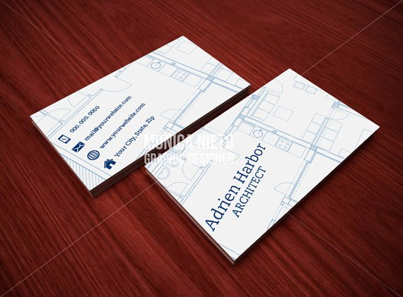Interior Designer Business Cards Fresh Printable Architect Business Card Template Interior Designer