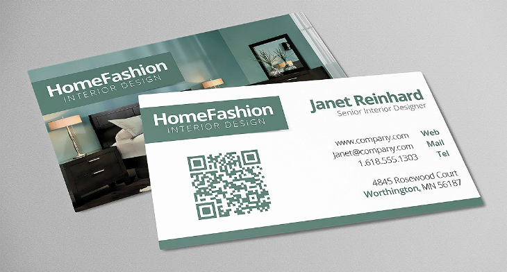 Interior Designer Business Cards Inspirational 21 Interior Design Business Card Templates Ai Ms Word Psd