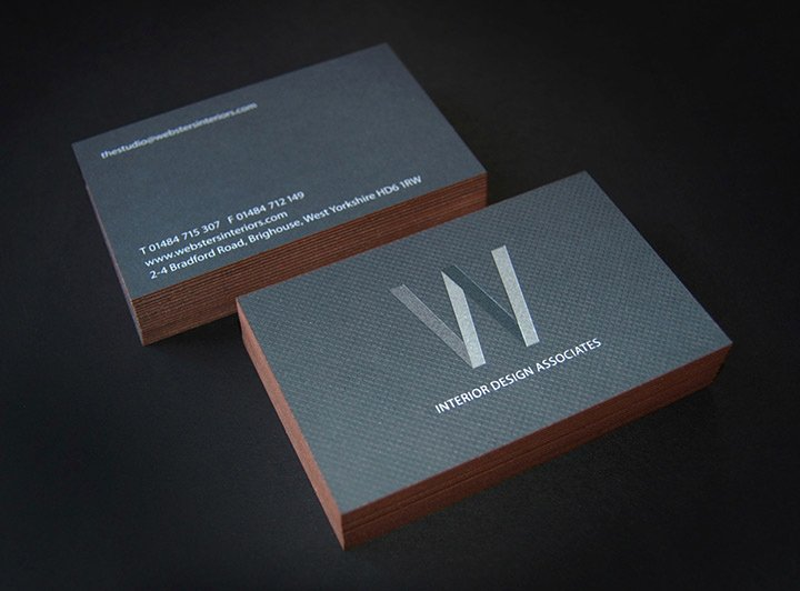 Interior Designer Business Cards Luxury Websters Interior Designers Lovely Stationery Curating the Very Best Of Stationery Design