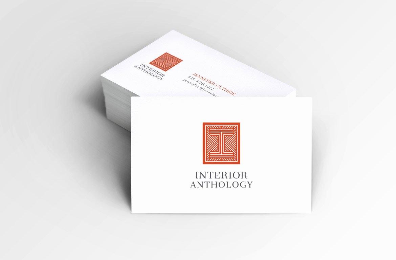 Interior Designers Business Cards Beautiful Logo & Identity Design for Interior Designer Nashville Graphic Design