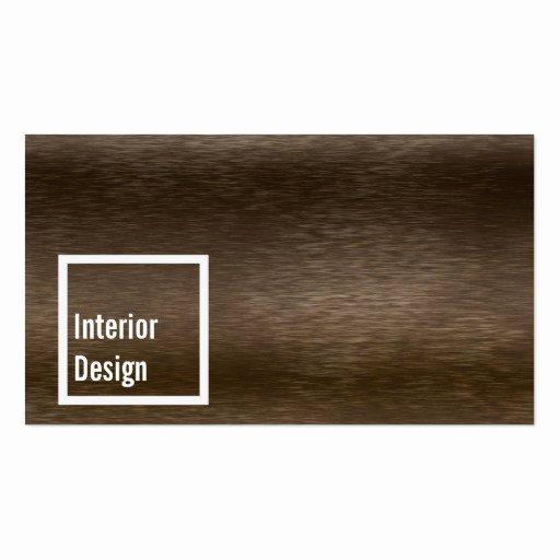 Interior Designers Business Cards Elegant Stylish Dark Wood Interior Design Business Card