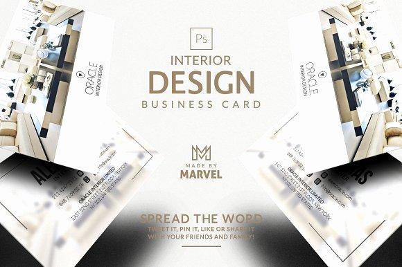 Interior Designers Business Cards Inspirational Interior Design Business Card – Kreativ Graphic