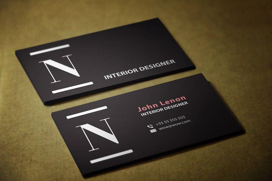 Design some Business Cards for Interior Designer