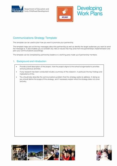 Internal Communications Plan Template Elegant Free 9 Internal Munications Plan Samples In Pdf