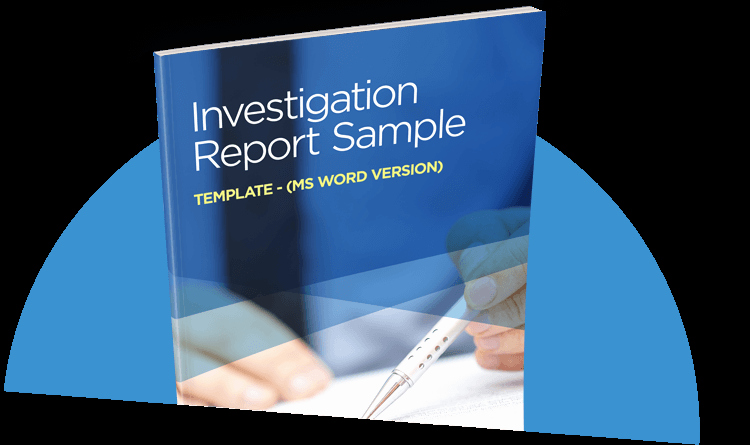 Internal Investigation Report Template Best Of Investigation Report Sample