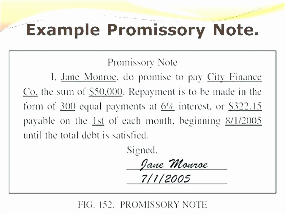International Promissory Note Template Unique Promissory Note Template