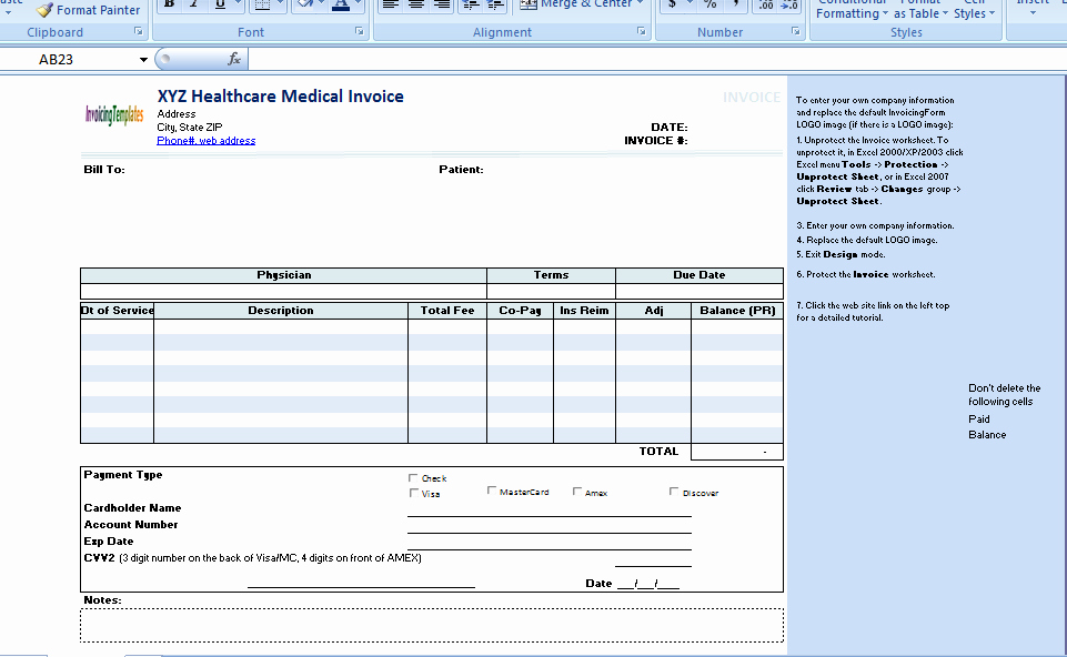 Invoice for Medical Records Template Fresh the Medical Invoice Template is Useful for Any Healthcare Provider Physician or Doctor to Bill