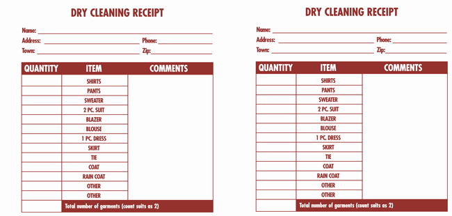 cleaning service invoice templates