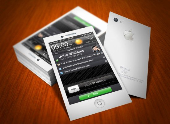 iPhone Business Card Template Fresh Business Businescard Disguised as A Real iPhone Anoyone
