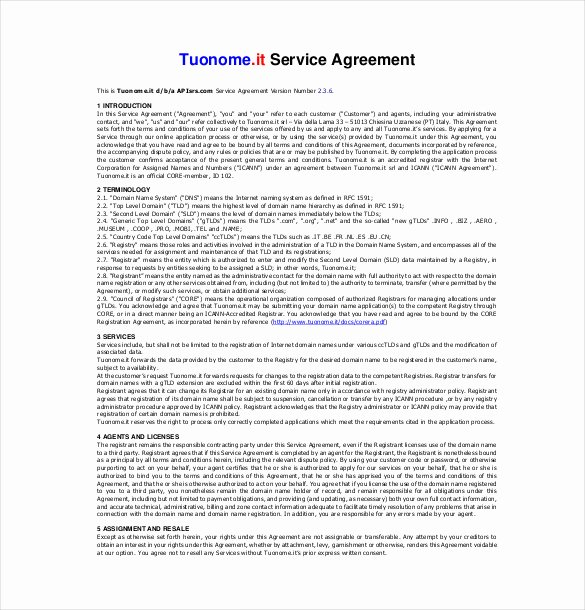 It Service Contract Template New 36 Service Agreement Templates Word Pdf