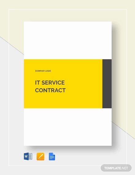 It Support Contract Template Unique 8 It Support Contract Templates Word Google Docs Pdf Apple Pages