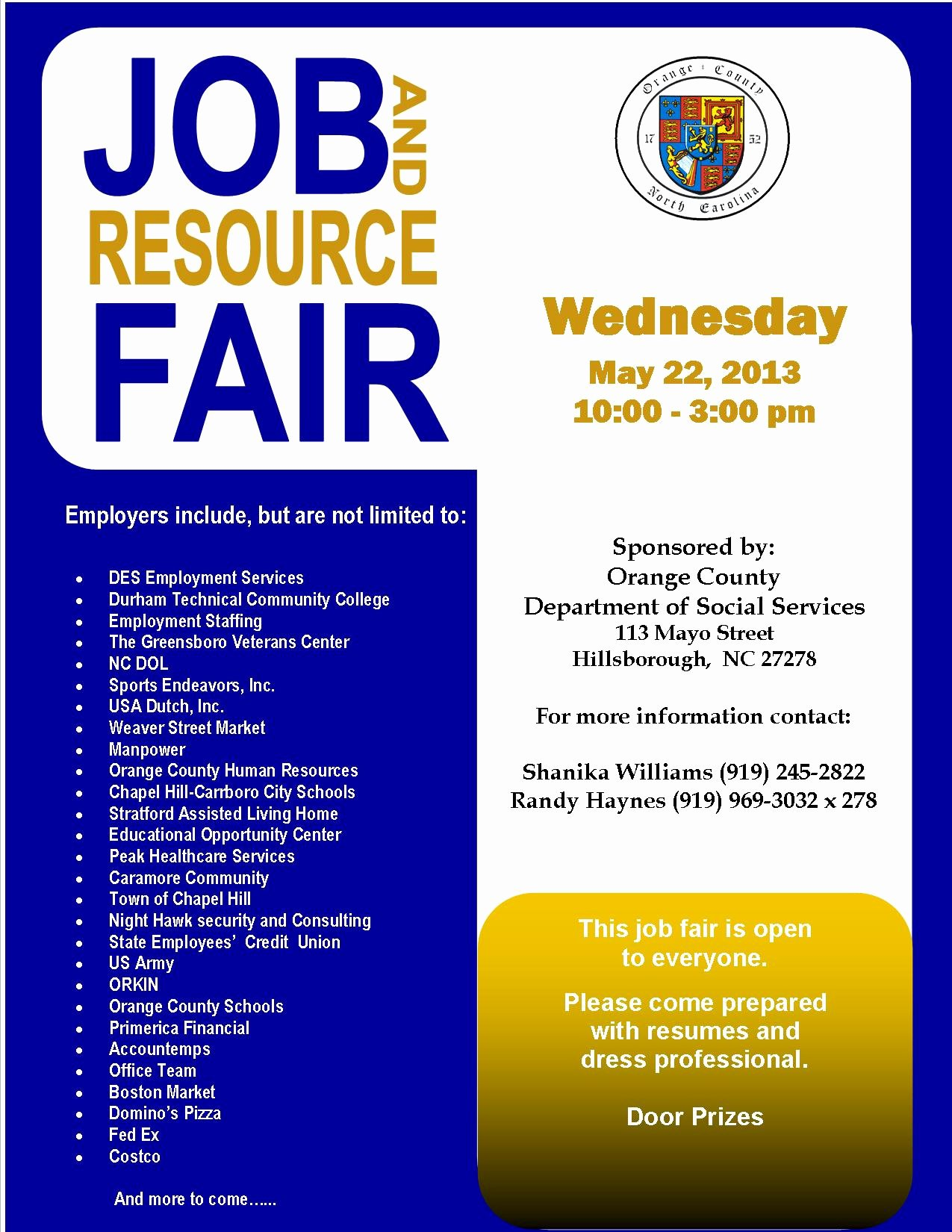 Job Fair Flyer Template Free Elegant Continuing Education