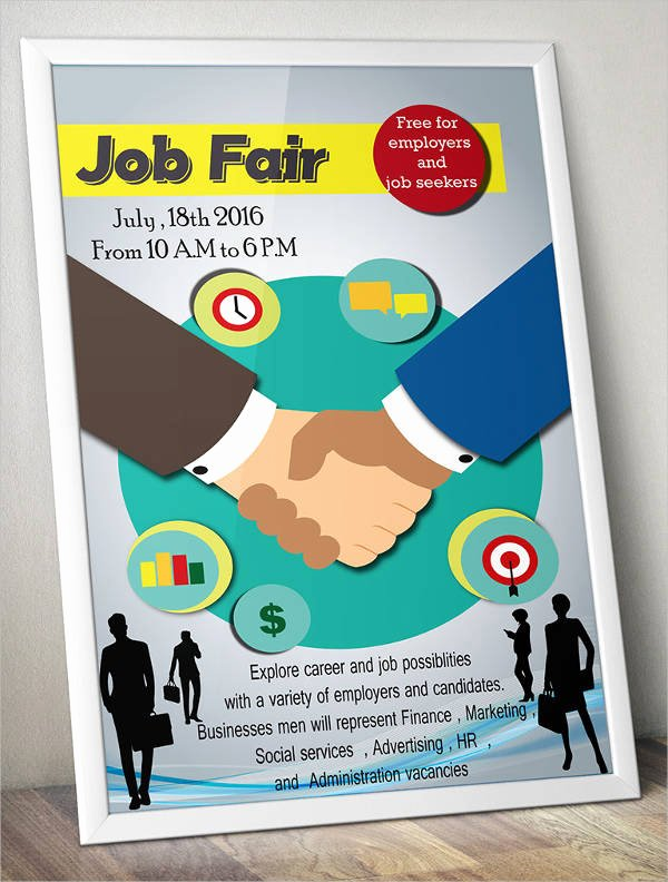 Job Fair Flyer Template Free New 10 Job Fair Flyer Templates Psd Eps Vector Pdf Indesign