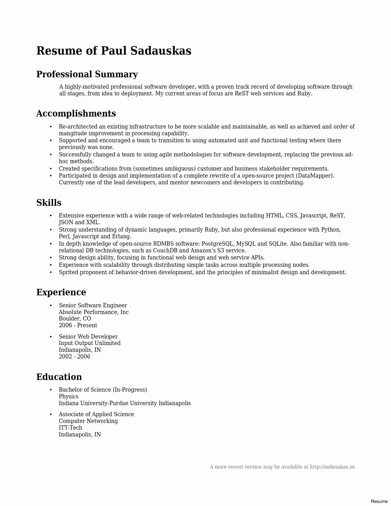 Junior Web Developer Resume Lovely Junior Web Developer Resume