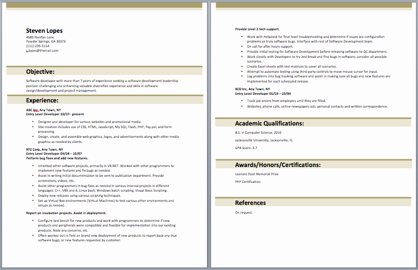 Junior Web Developer Resume Luxury Entry Level Web Developer Resume Entry Level Resume Samples Pinterest