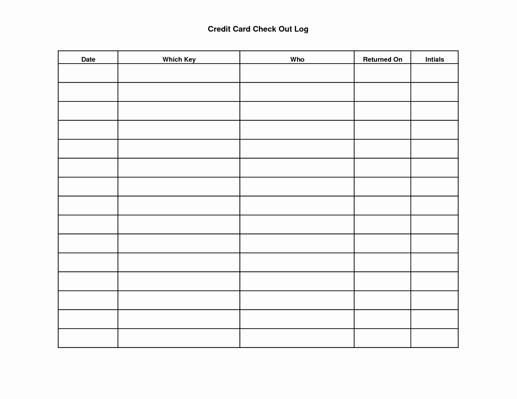 Key Sign Out Sheet Fresh Key Sign Out Sheet Template