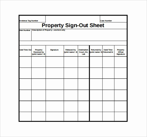 Key Sign Out Sheet New Free Printable Sign In and Out Sheets Printable Pages