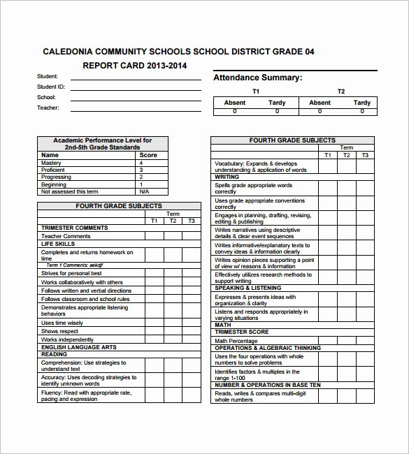 Kindergarten Progress Report Template Luxury 27 Progress Report Card Templates Google Doc Pdf Psd Eps Word Pages