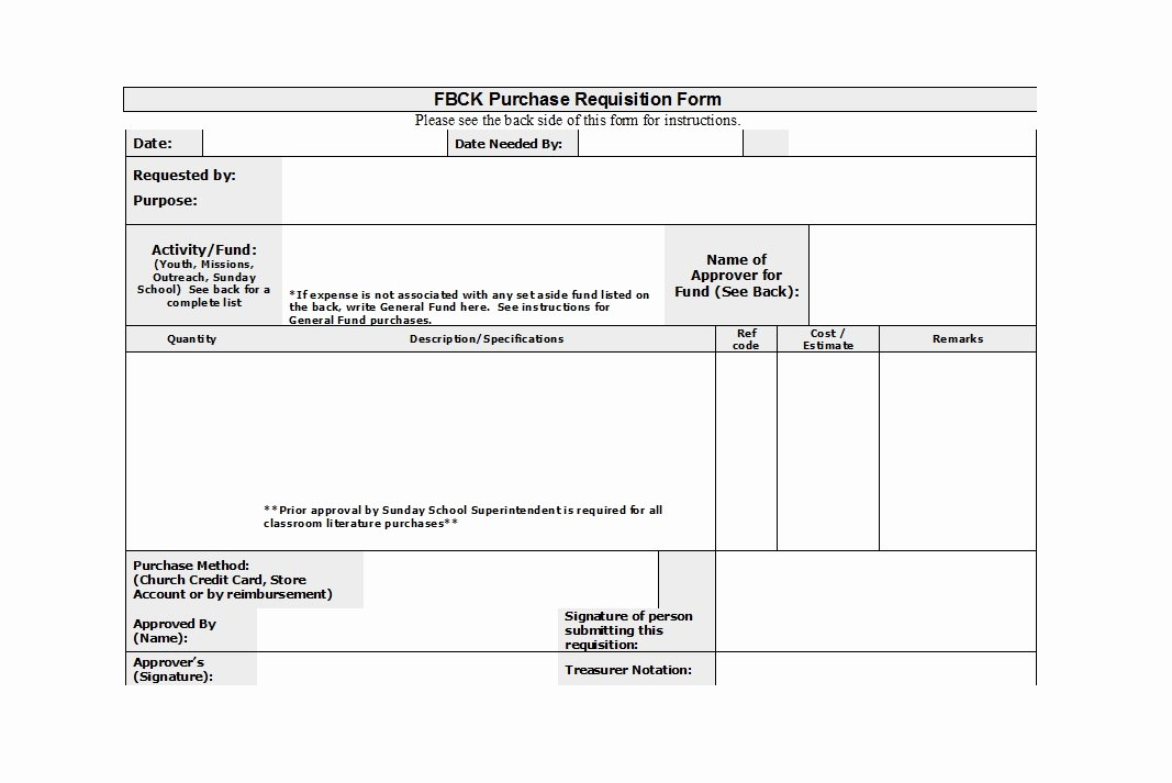 Lab Requisition form Template Luxury 50 Professional Requisition forms [purchase Materials Lab]
