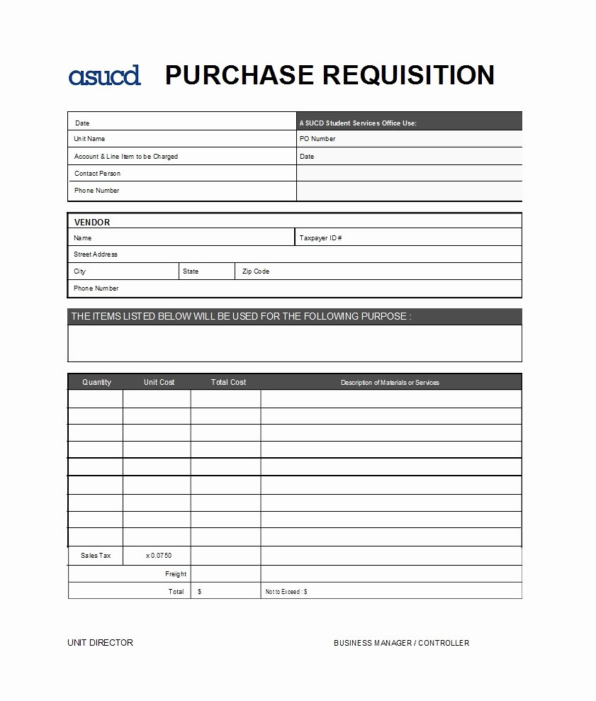 Lab Requisition form Template Unique 50 Professional Requisition forms [purchase Materials Lab]