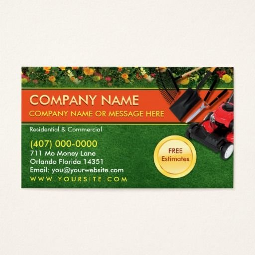 Landscape Business Card Template Beautiful 135 Best Images About Landscaping Business Cards On