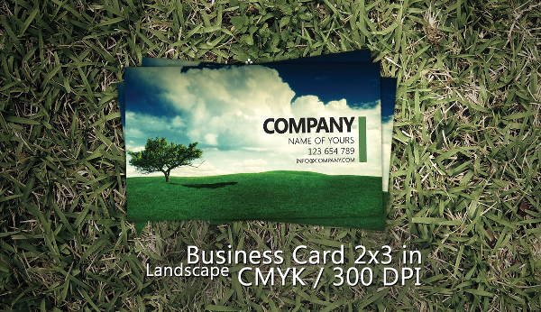 Landscape Business Card Template Best Of 10 Best Landscaping Business Card Templates Pages Ai