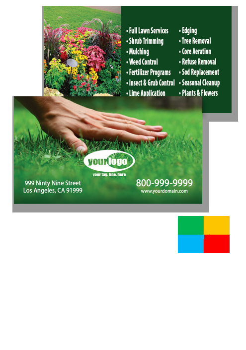 Landscape Business Card Template Inspirational Landscaping Business Cards Templates