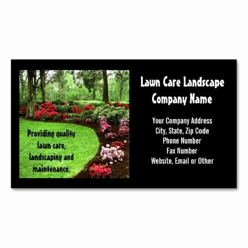 Landscape Business Card Template Luxury 10 Images About Lawn Care Business Cards On Pinterest