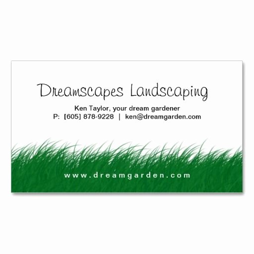 Landscape Business Card Template New 1000 Images About Landscaping Business Cards On Pinterest