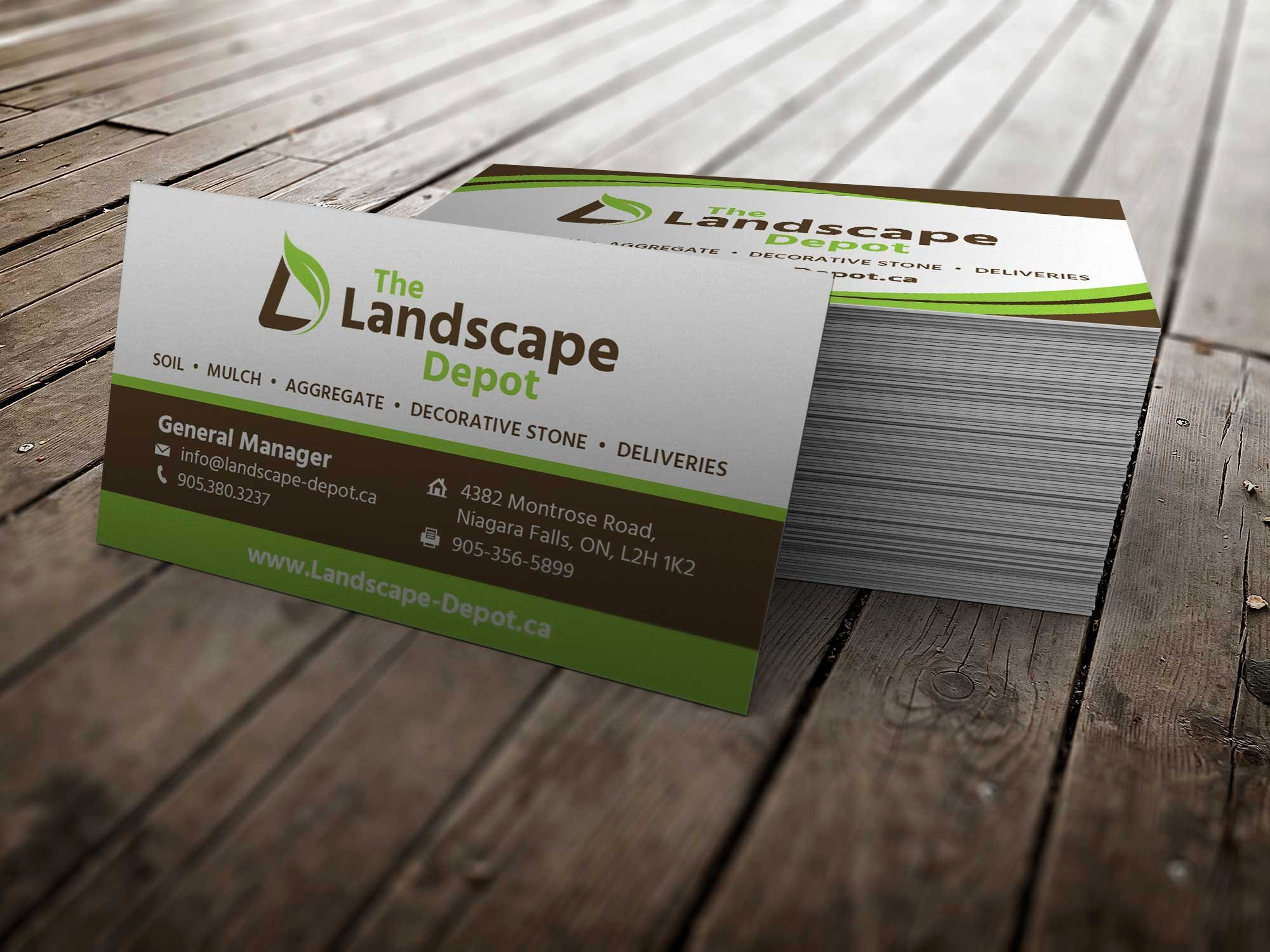 Landscape Business Card Template New 19 Excellent Landscaping Business Cards S