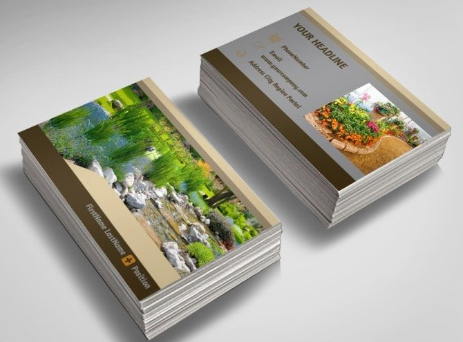 Landscape Design Business Cards Awesome Front Yard Landscaping Plans